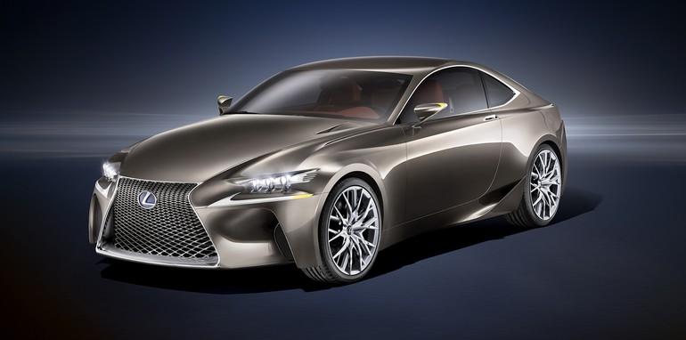 Lexus LF-CC concept front side