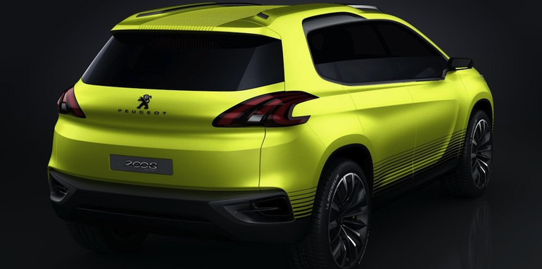 peugeot 2008 concept previews new compact suv. Black Bedroom Furniture Sets. Home Design Ideas