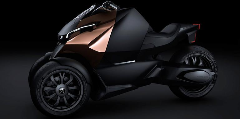 Peugeot Onyx Concept Scooter - 2