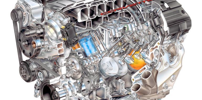 Chevrolet Corvette LT1 Engine - 3