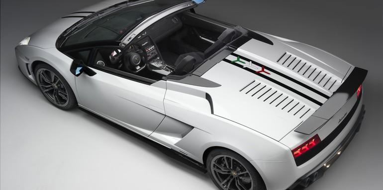 Lamborghini Gallardo 570-4 Spyder Performante - Rear Top