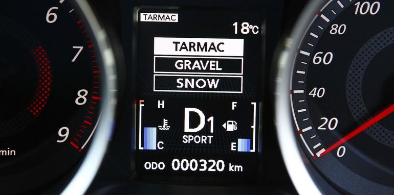 Mitsubishi Lancer Ralliart TC-SST - Odometer