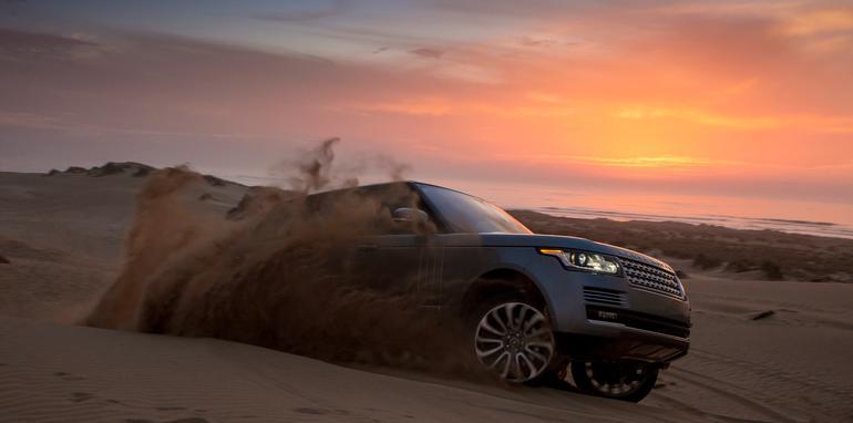 Range Rover dune dynamic