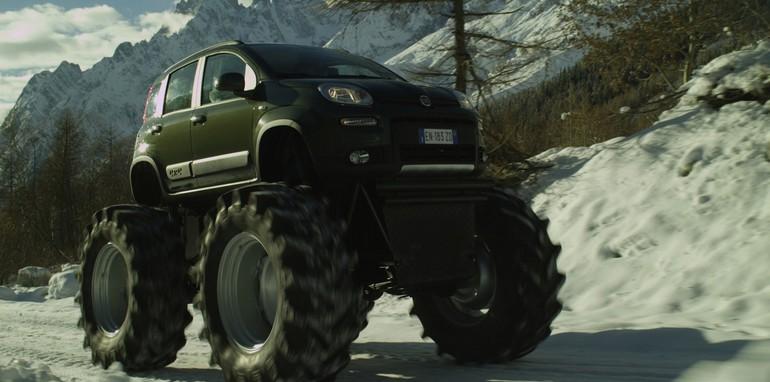 Fiat Panda 4x4 Monster Truck - 1