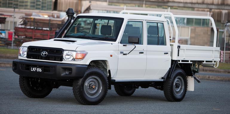 Toyota LandCruiser 70 series dual cab