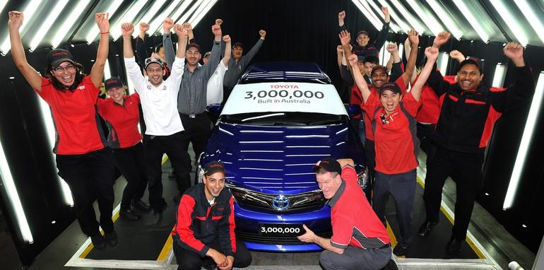 Toyota's 3 Millionth Car