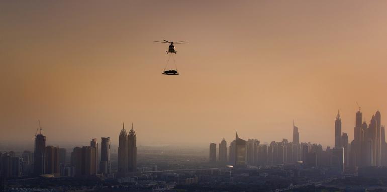 Aston Martin Vanquish drops into Dubai - 2