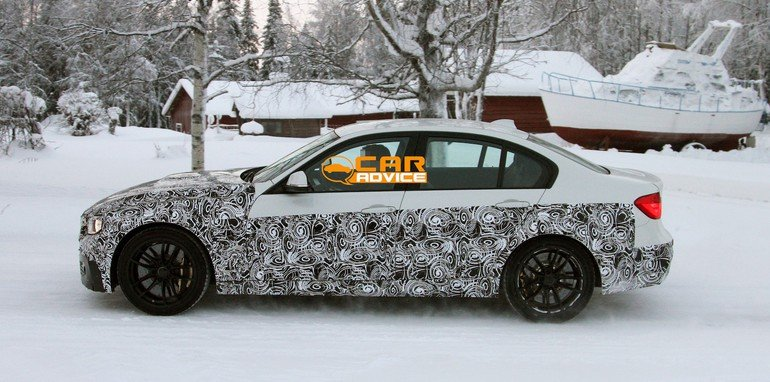 BMW M3 Spied - 3