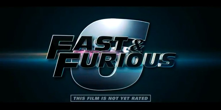 Fast & Furious 6 - Logo