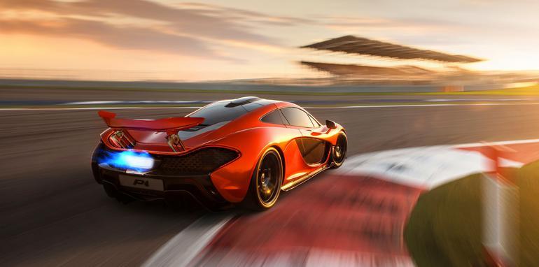 McLaren P1 at BIC - 1