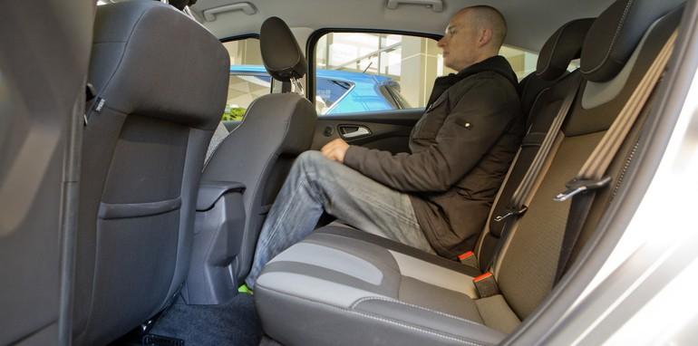Ford Focus - Rear Legroom