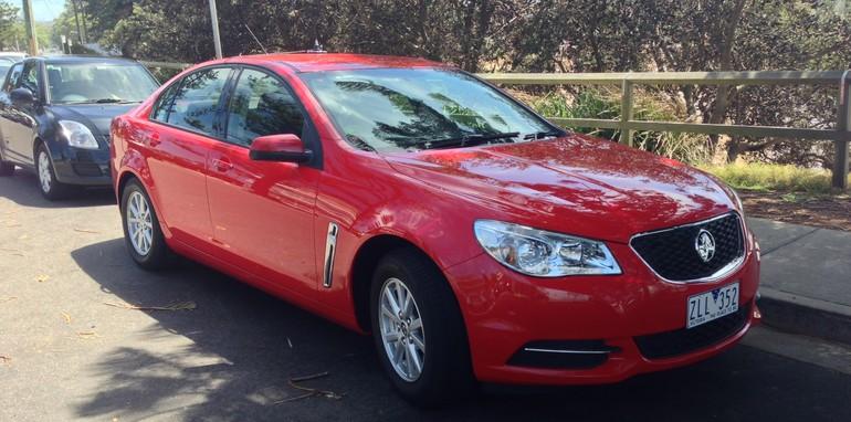 Holden VF Commodore base model spy 1