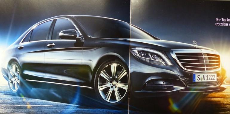 Mercedes-Benz S-Class Brochure Leaked - 5