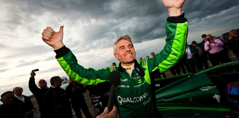 Drayson Racing sets new World Electric Land Speed Record - 3
