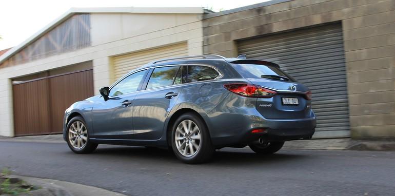 Holden VF Sportwagon Vs Mazda 6 Touring - 47