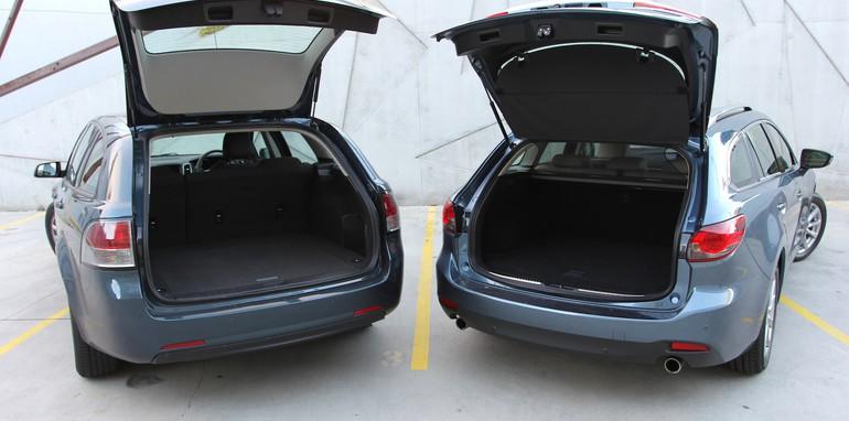 Holden VF Sportwagon Vs Mazda 6 Touring - 6