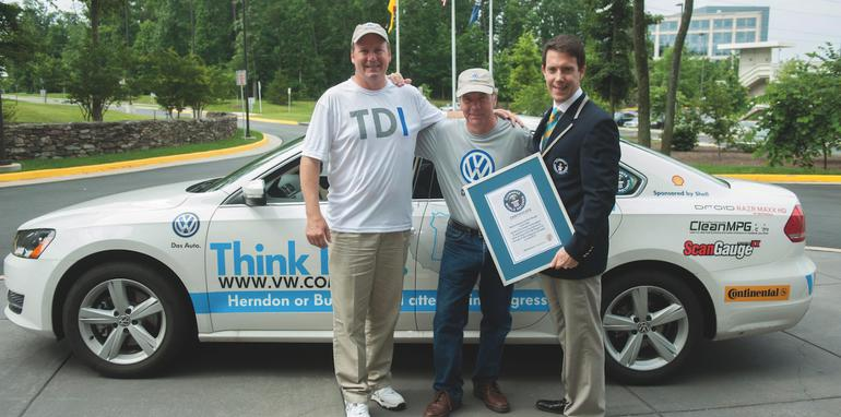 Volkswagen Passat TDI Fuel Economy World Record