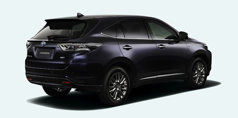 2013 Toyota Highlander For Sale >> Toyota Harrier: Japan-only SUV hints at future Lexus RX