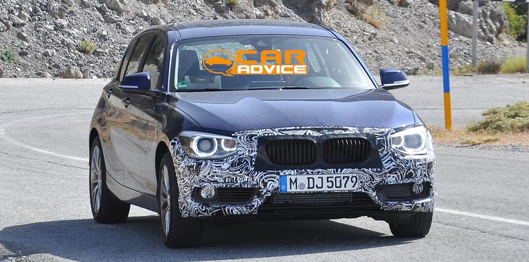 BMW 1 Series Facelift Spied - 2