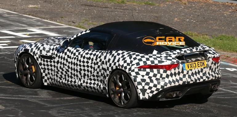 Jaguar F-Type Coupe R-S Spied - 10