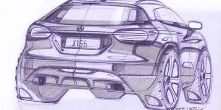 Mercedes-Benz GLA-Class Sketch - 2