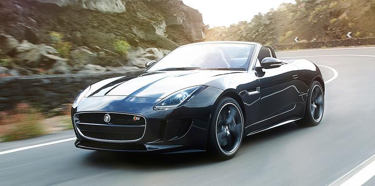 Jaguar F-Type Unveiled At The Paris Auto Show 2012