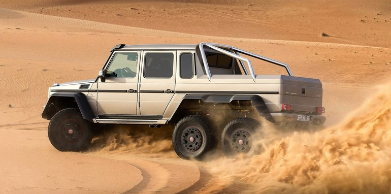 Mercedes benz g63 amg 6 6 priced at 547k for Mercedes benz amg 6x6 price