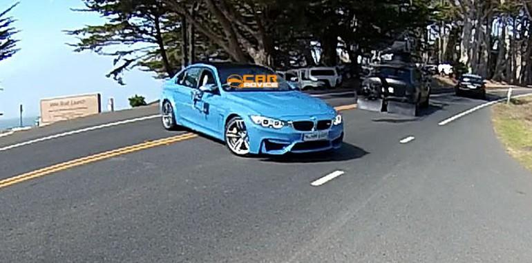 BMW M3 Spied Undisguised - 2