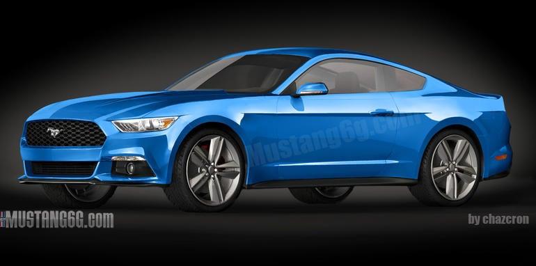 Ford-Mustang-Rendering