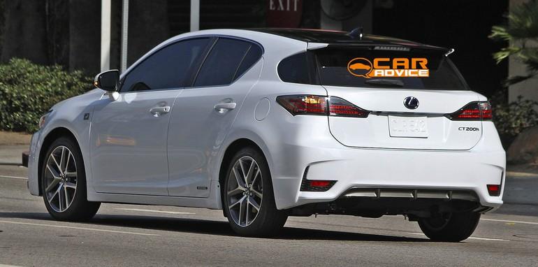 Lexus CT200h F Sport Spied - 6