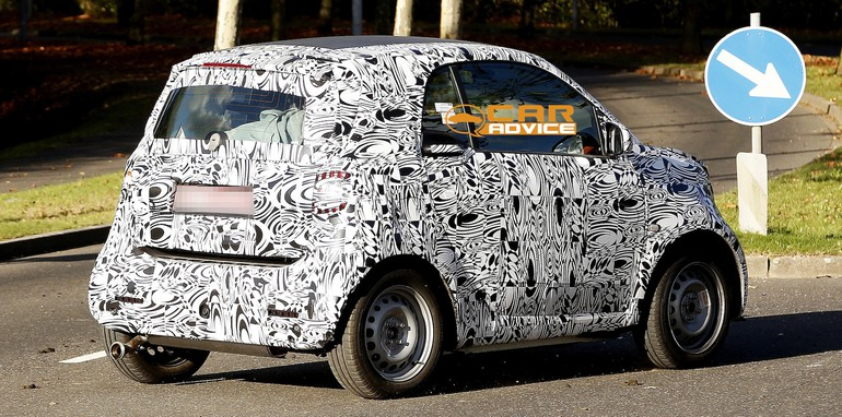 Smart ForTwo Spied - 5