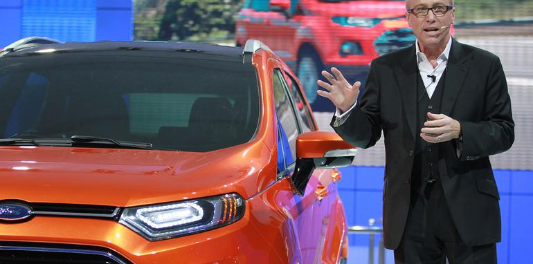 Ford at Auto Expo 2012