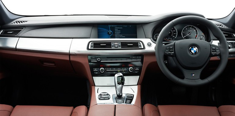 BMW 7 Series M Sport Interior