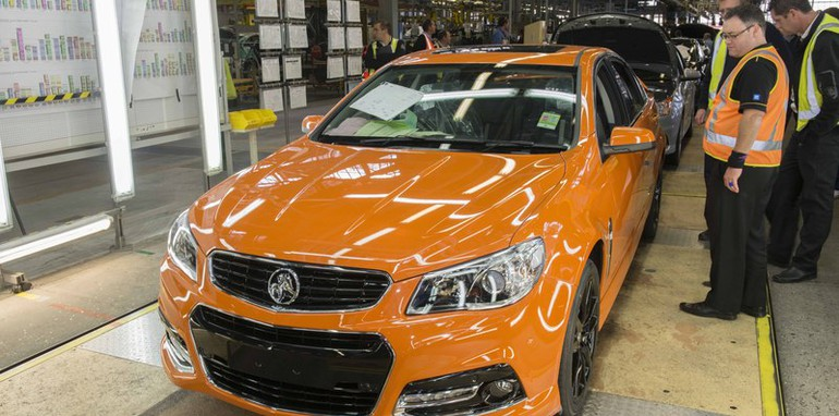 Holden VF Manufacturing - 1