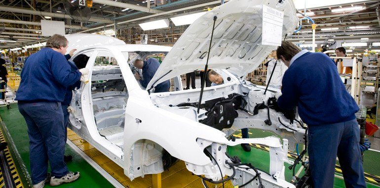 Camry production at Altona manufacturing plant