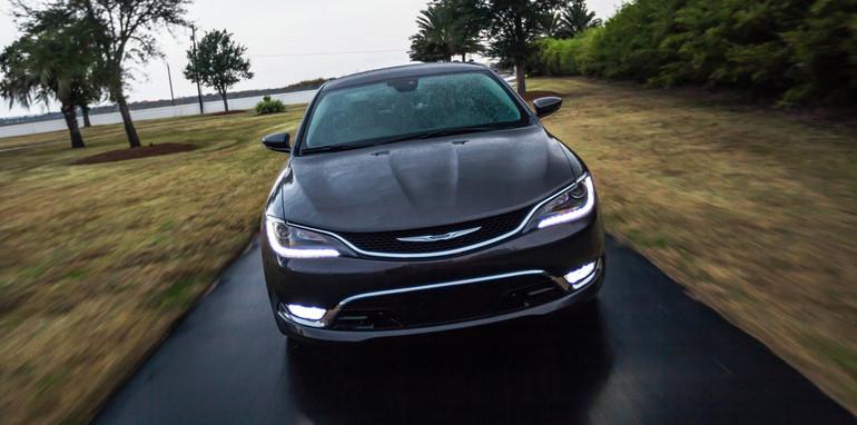 Chrysler 200 front on