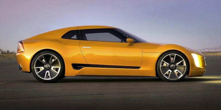 Kia GT4 Stinger profile