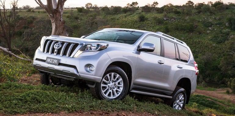 Toyota Prado - best-selling large SUV 2013 (Kakadu shown)