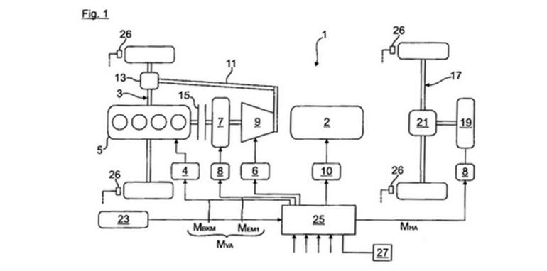 Audi patent 1