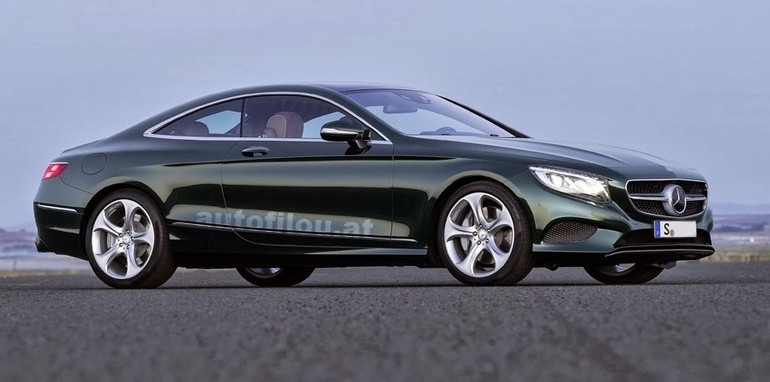 Mercedes benz s class coupe first images of luxury two for Mercedes benz corporate number