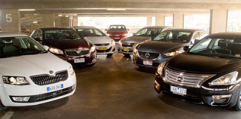 Mid-size Sedans-2