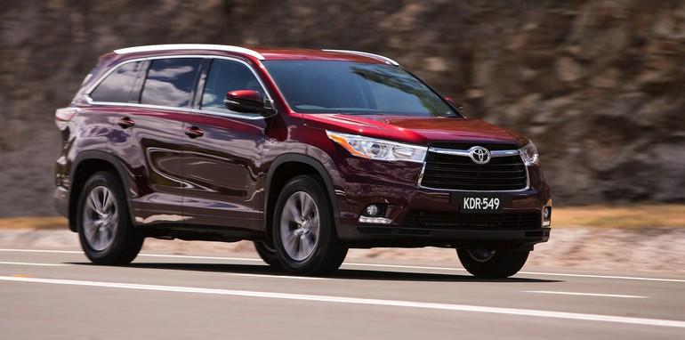 2014 Toyota Kluger GXL