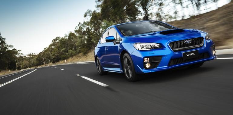 MY15 Subaru WRX Premium.