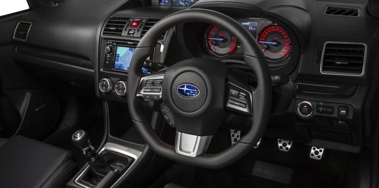 MY15 Subaru WRX Premium Interior.