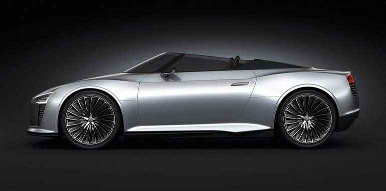 Audi e-tron Spyder /Standaufnahme