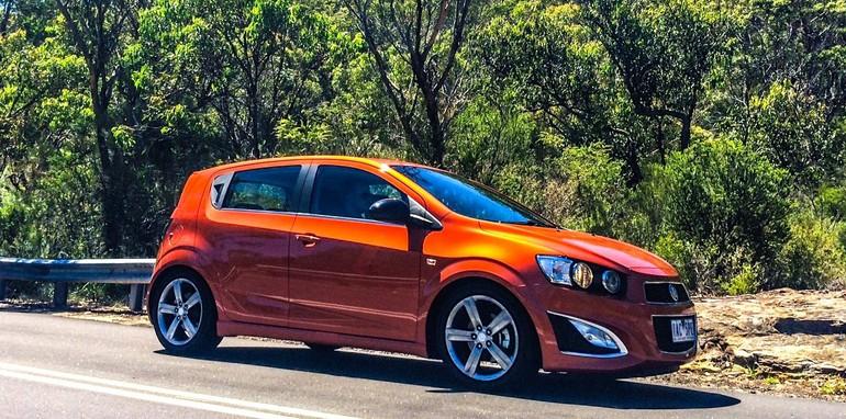 Holden Barina RS v Ford Fiesta Sport 11