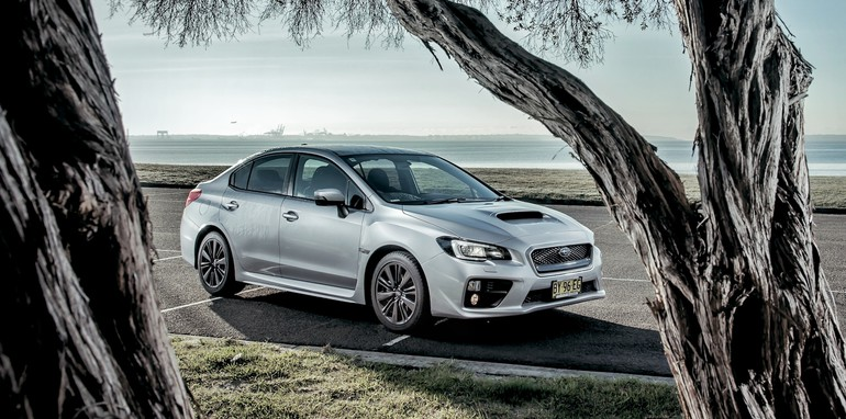 2014 Subaru WRX 1