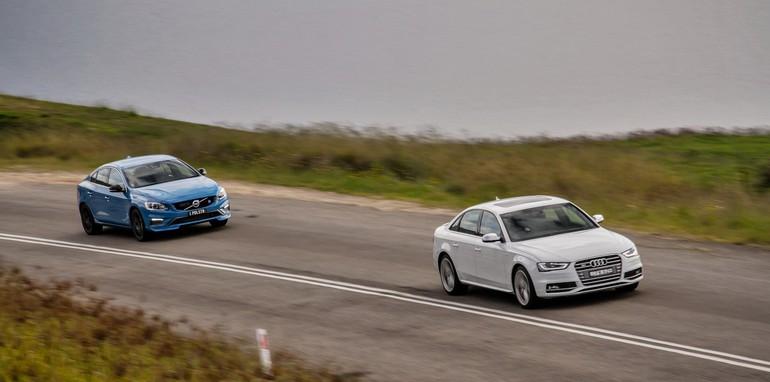 Audi S4 v Volvo S60 Polestar 4