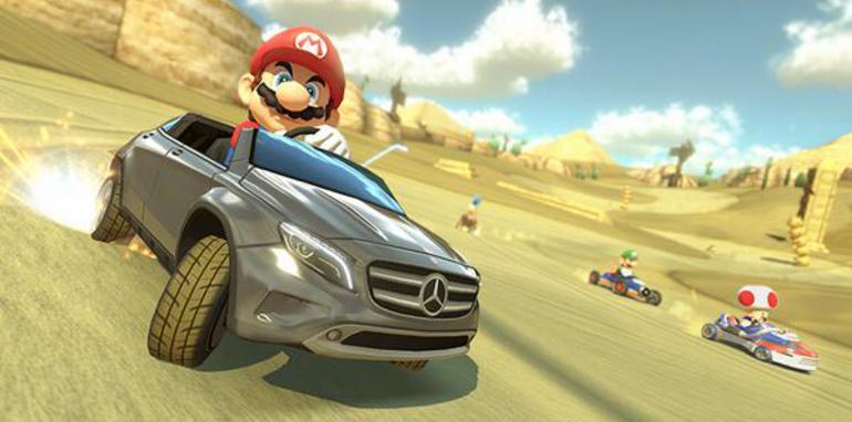 Mario in Mercedes