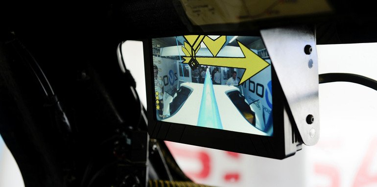 Nissan ZEOD RC rear vision monitor